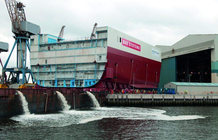 BAE barge.